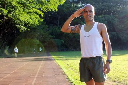 Elenilton Rangel se divide entre os quarteis e as pistas (Foto: Cleber Akamine)