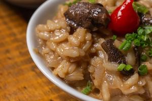 Risoto: receita com três tipos de cogumelos