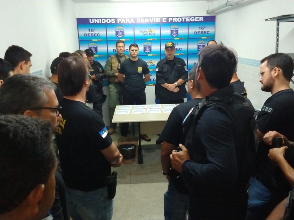 Operação Ofocona 157 em Surubim — Foto: Polícia Civil/Divulgação