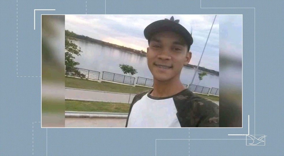 Wanderson Lima Gomes, de 20 anos, foi morto no bairro Alto Bonito durante a noite desta quinta-feira (3), em Imperatriz — Foto: Reprodução/TV Mirante