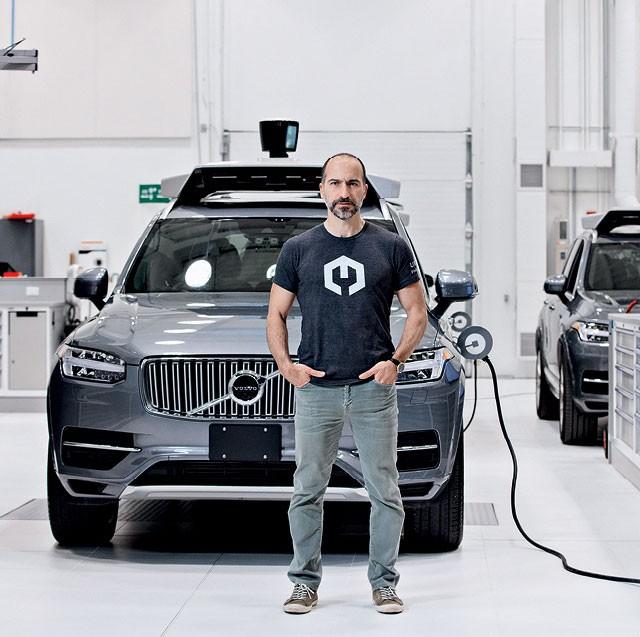 Dara Khosrowshahi, CEO da Uber (Foto: FLOTO + WARNER/Wired/Conde Nast)