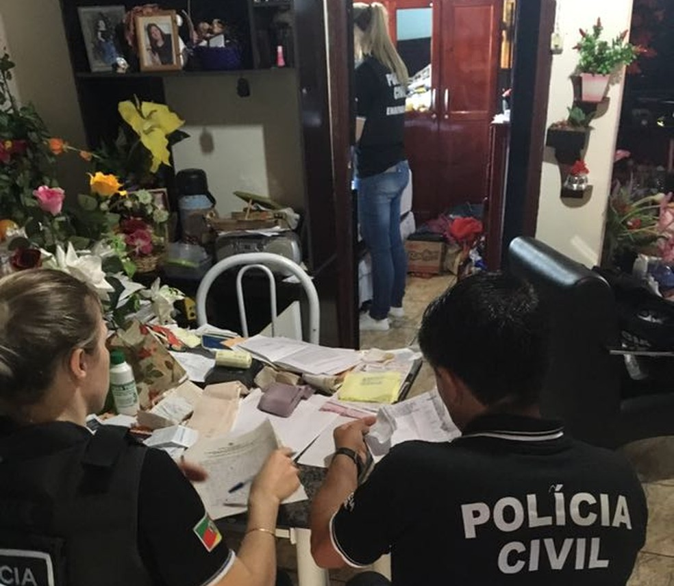 Operação foi deflagrada em Roque Gonzales, no Noroeste do Rio Grande do Sul (Foto: Polícia Civil/Divulgação)