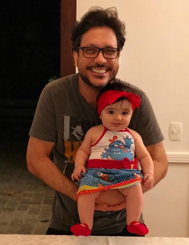 Lucio Mauro Filho e Liz (Foto: Reprodução)