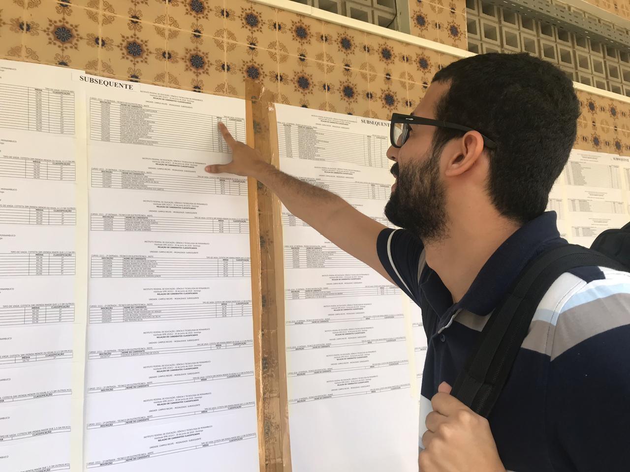IFPE divulga resultado do vestibular 2019.2 e anuncia primeiros colocados - Notícias - Plantão Diário