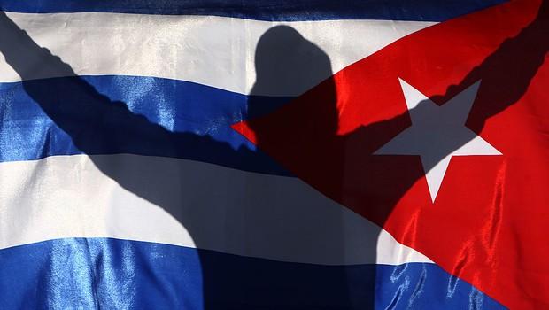 Bandeira de Cuba (Foto: Getty Images)