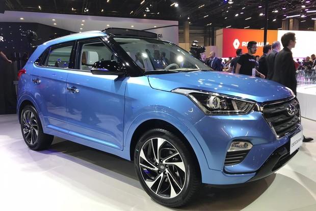 Creta Prestige indica uma futura versão top do utilitário da Hyundai (Foto: Diogo de Oliveira/Autoesporte)