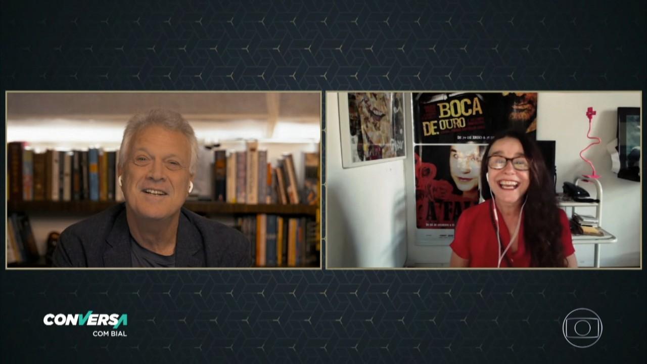 Lucélia Santos fala sobre sua história com a televisão