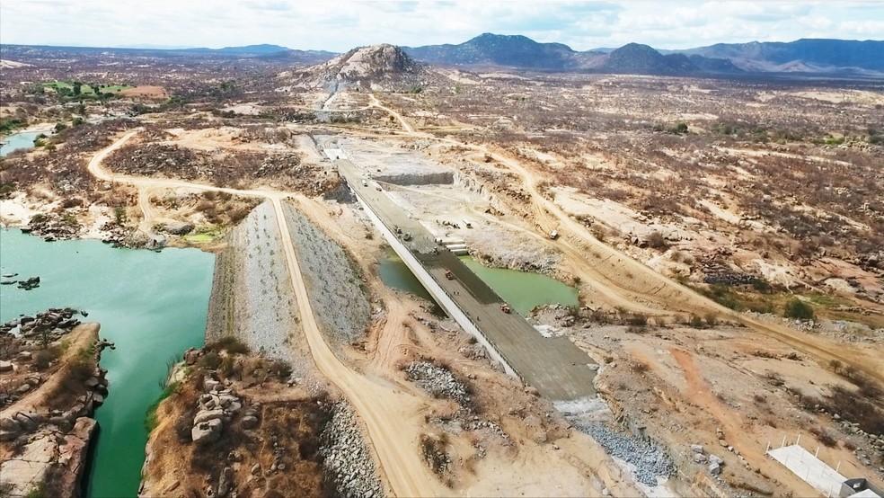 Águas do São Francisco devem chegar ao Ceará em agosto, diz ministério (Foto: Divulgação/Semarh)