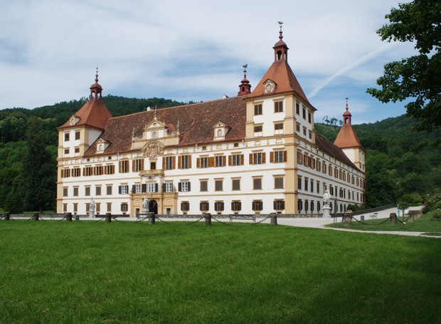 Palácio Eggenberg, Áustria (Foto: Universalmuseum Joanneum/ Reprodução)