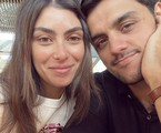Mariana Uhlmann e Felipe Simas   Reprodução