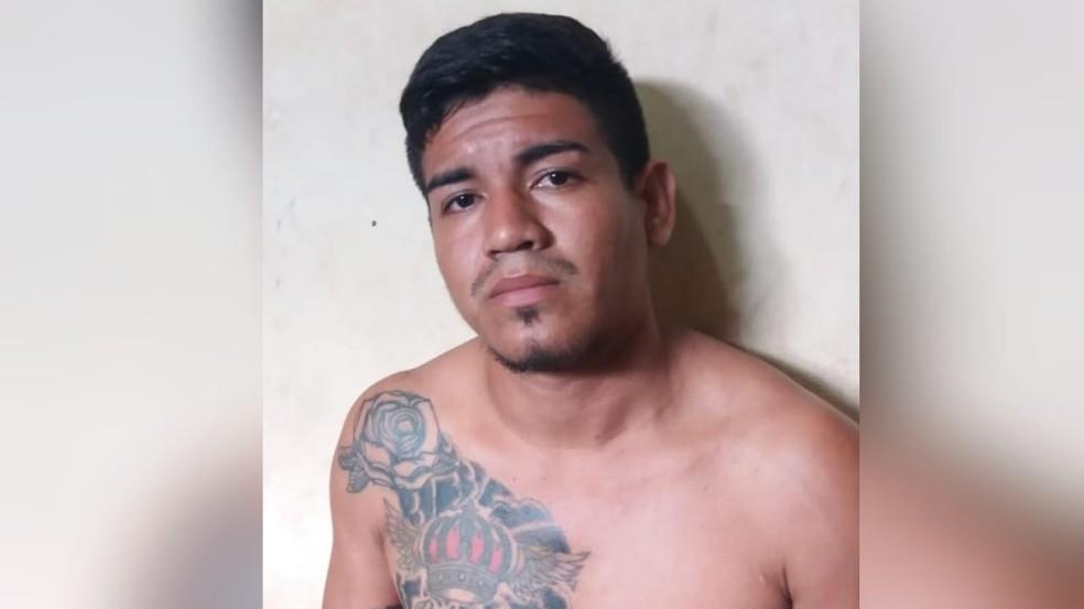 Railker Rangel foi preso, em Santarém, suspeito do crime de tráfico de drogas — Foto: Reprodução/Redes Sociais