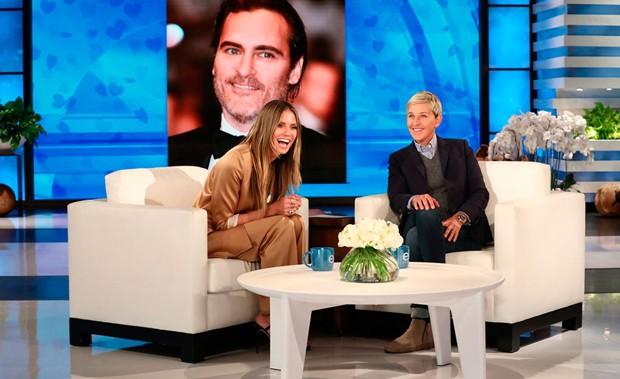 Heidi Klum e Ellen DeGeneres (Foto: Divulgação/Reprodução)