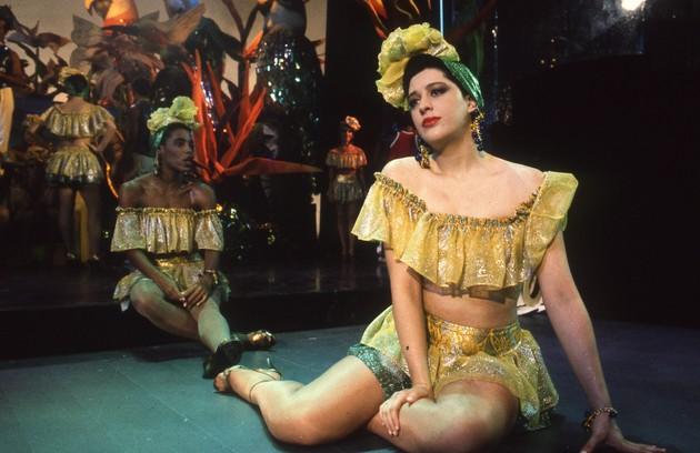 """Na novela """"Rainha da sucata"""", de 1990, Claudia Raia viveu outra dançarina, a bailarina Adriana Gross (Foto: Arquivo O Globo)"""