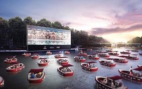 Paris ganha 'cinema flutuante' para manter distanciamento social