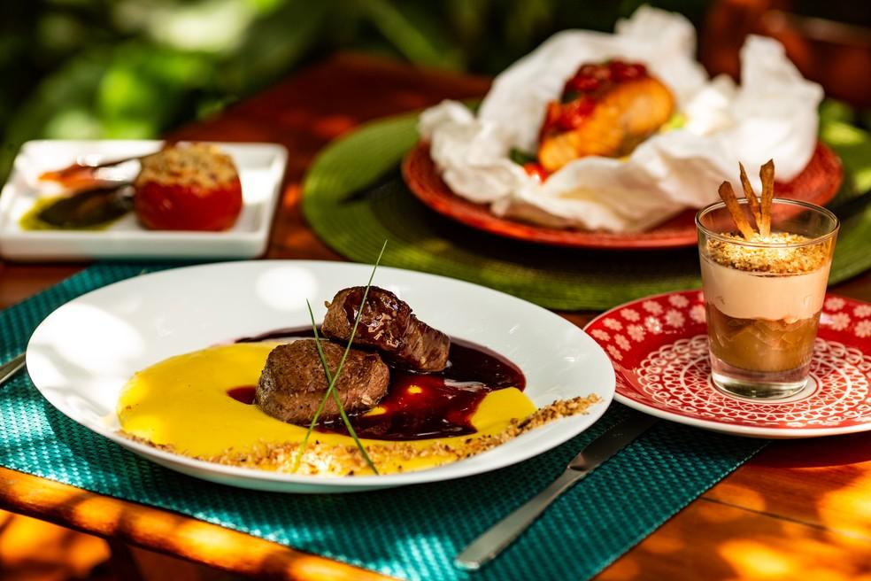 Menu do restaurante Rapport, participante do festival Boa Mesa Brasília — Foto: Gui Teixeira/Divulgação