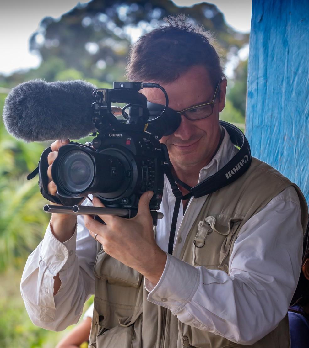 A expedição se tornará um documentário que não se submeterá apenas ao registro da natureza local, mas dos bastidores da ação — Foto: Alejandro Garcia/Acervo Pessoal