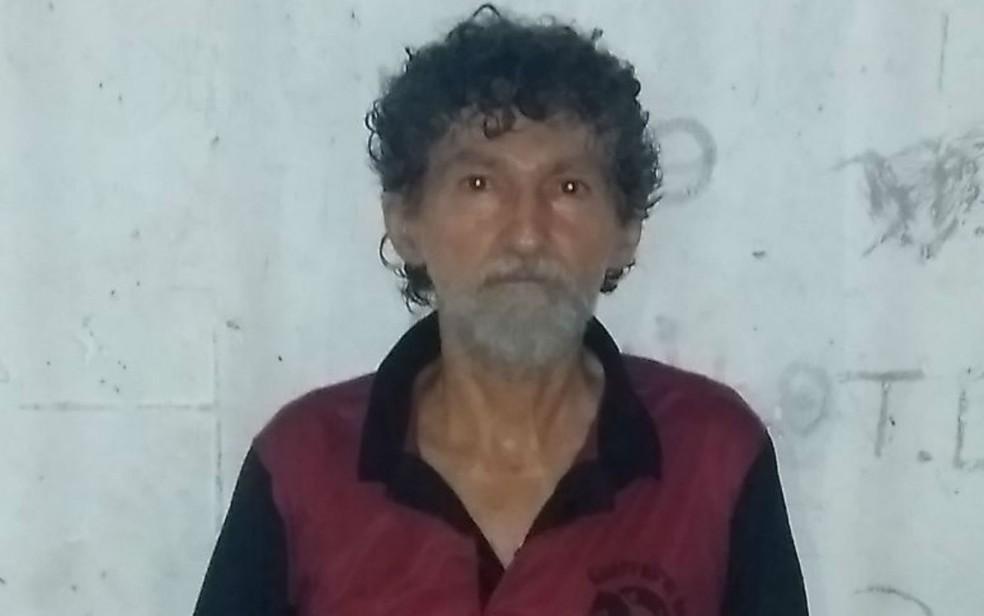 Idoso foi preso após matar a mulher com marreta (Foto: Divulgação/SSP-BA)