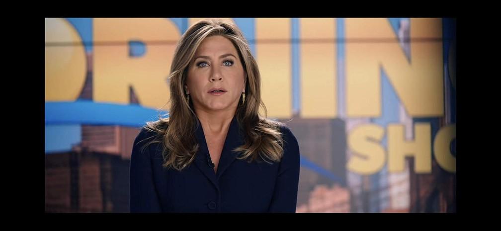 Jennifer Aniston na série 'The Morning Show' — Foto: Divulgação/Apple