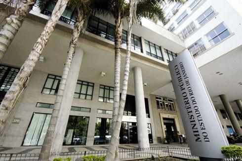 A sede do MP fica no Centro do Rio