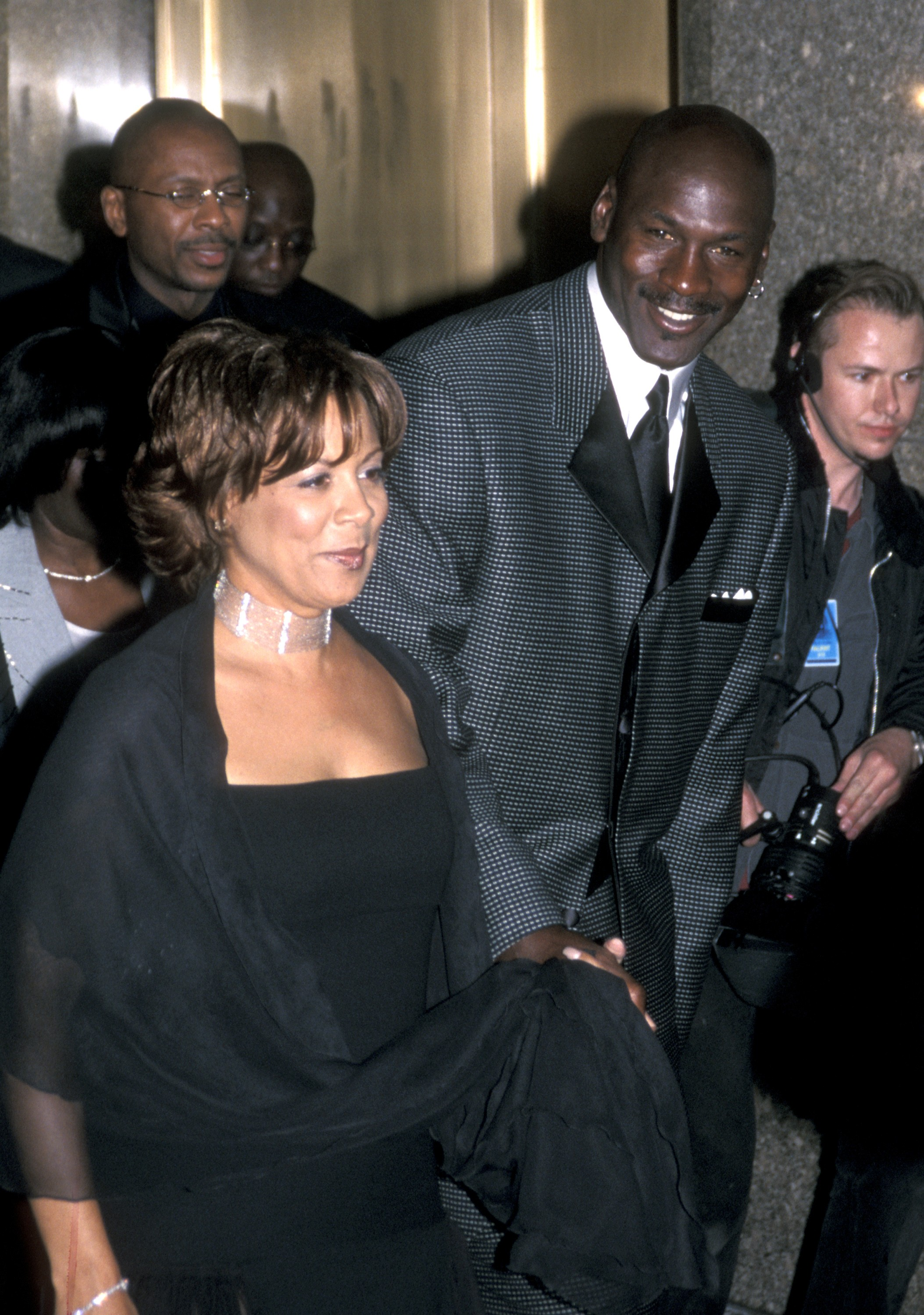 Juanita Vanoy e Michael Jordan (Foto: Getty Images)