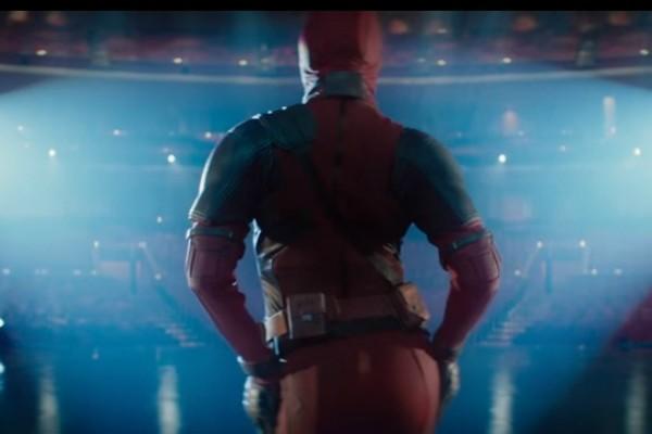 """Céline Dion e Deadpool em cena de """"Ashes"""" (Foto: Reprodução Youtube)"""