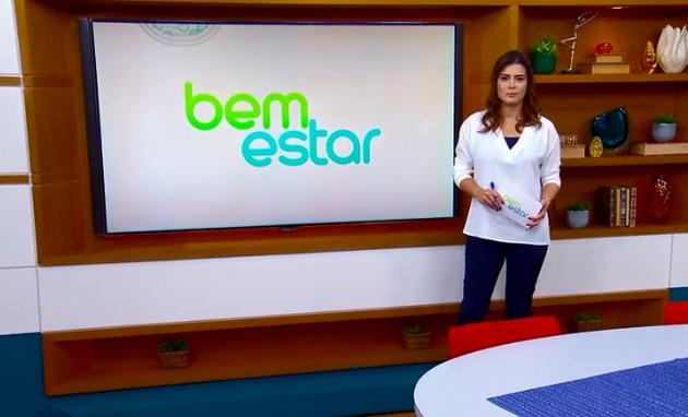 Michelle Loreto no 'Bem estar' (Foto: Reprodução)