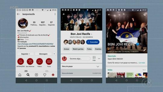 Fãs de Bon Jovi estão ansiosos para show em Recife