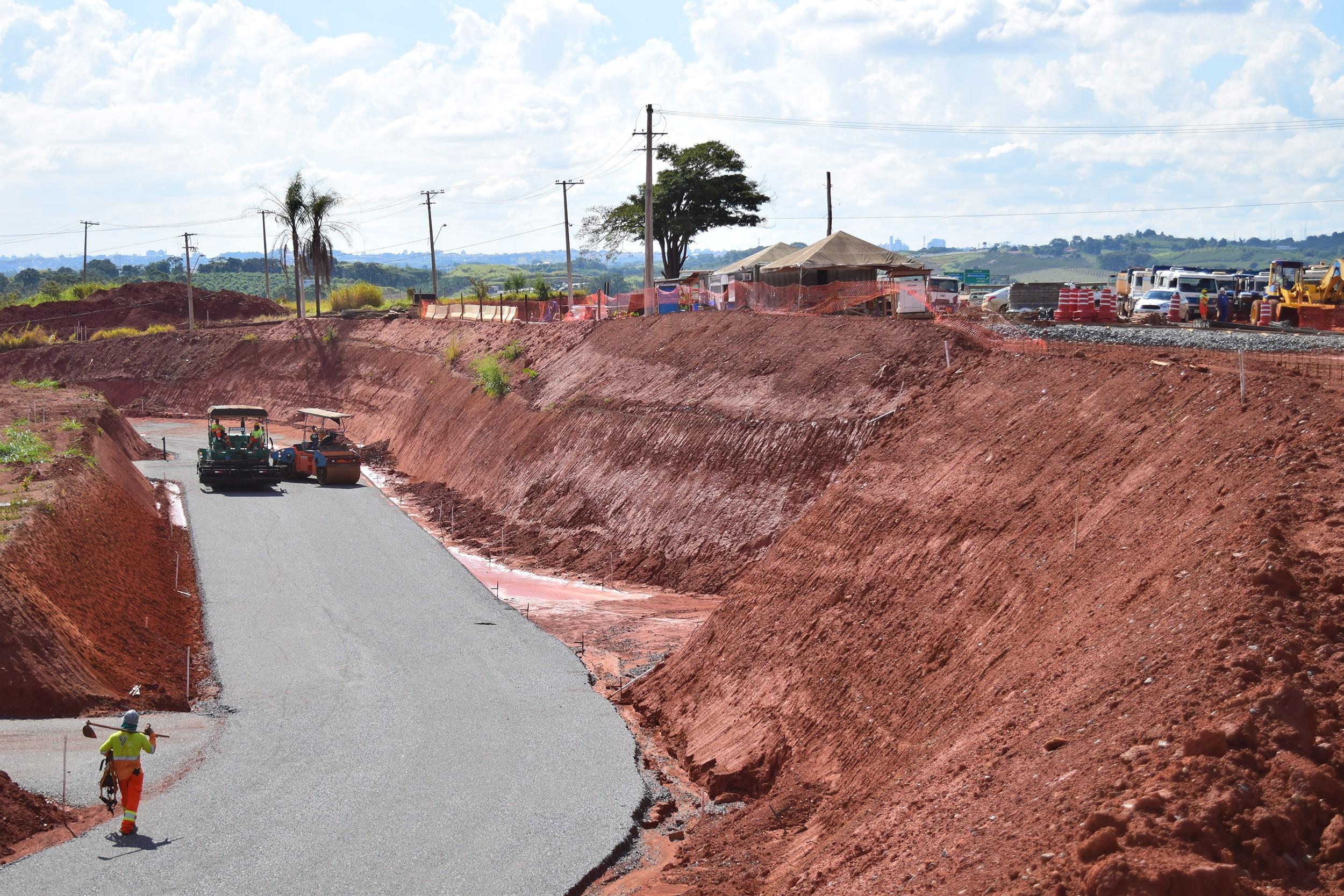 Com atraso de 1 ano e à espera de licença ambiental, prolongamento de anel viário em Campinas tem data incerta para conclusão