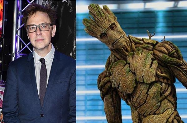 James Gunn e Groot (Foto: Getty Images / Divulgação)