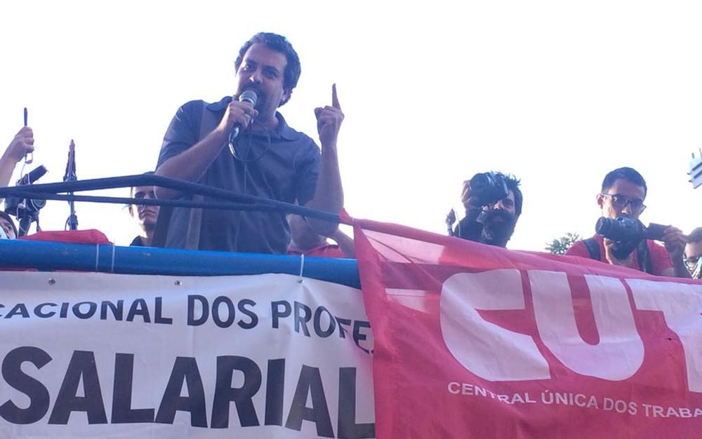 Guilherme Boulos, coordenador nacional do Movimento dos Trabalhdores Sem Teto (Foto: Paulo Toledo Piza/G1)