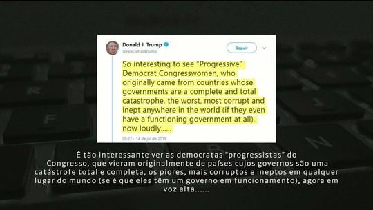 Trump é acusado de racismo por causa de comentário em rede social