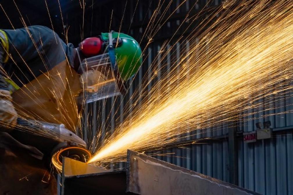 Indústria registrou maior desempenho em geração de empregos em setembro — Foto: Ricardo Wolffenbuttel/ Secom
