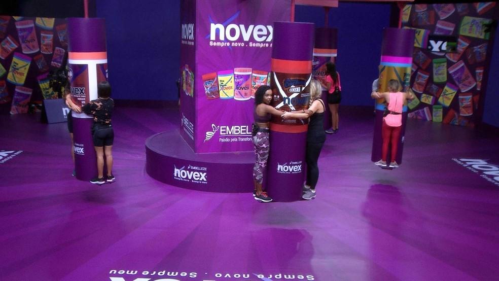 Começa Prova do Líder Carrossel Novex — Foto: Globo