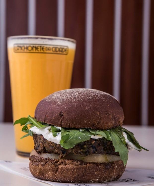 Hambúrguer vegano (Foto: Divulgação)
