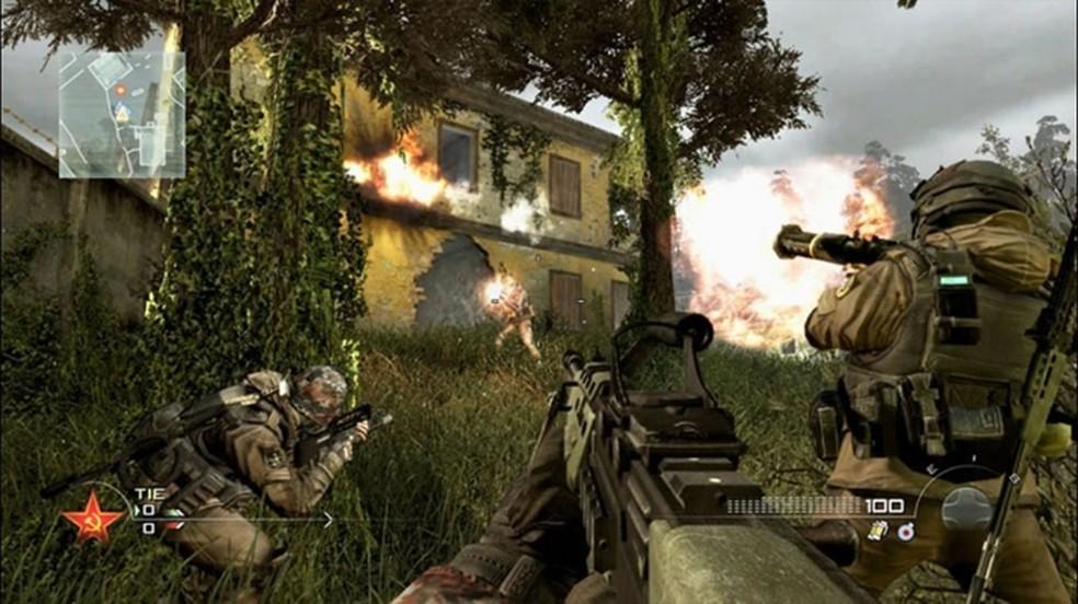 Call of Duty: Modern Warfare 2 entra para a retrocompatibilidade do Xbox One e completa a coleção da franquia no console (Foto: Reprodução/Xbox Live)