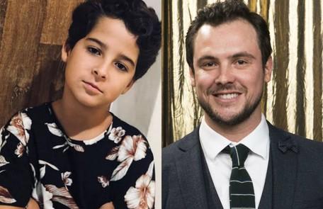 Luiz Felipe Mello e Sergio Guizé interpretarão Chiclete, do núcleo da família de Maria da Paz (Juliana Paes) Reprodução / TV Globo