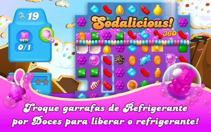 Novo Candy Crush tem refrigerantes, ursos de goma e muito mais (Foto: Divulgação)