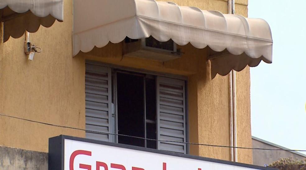 Suspeito de matar a mulher foi encontrado morto em quarto de hotel em Ribeirão Preto, SP (Foto: Reprodução/EPTV)
