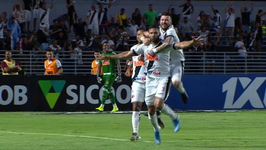 Vasco volta a vencer por três gols de diferença no Brasileirão após 18 meses
