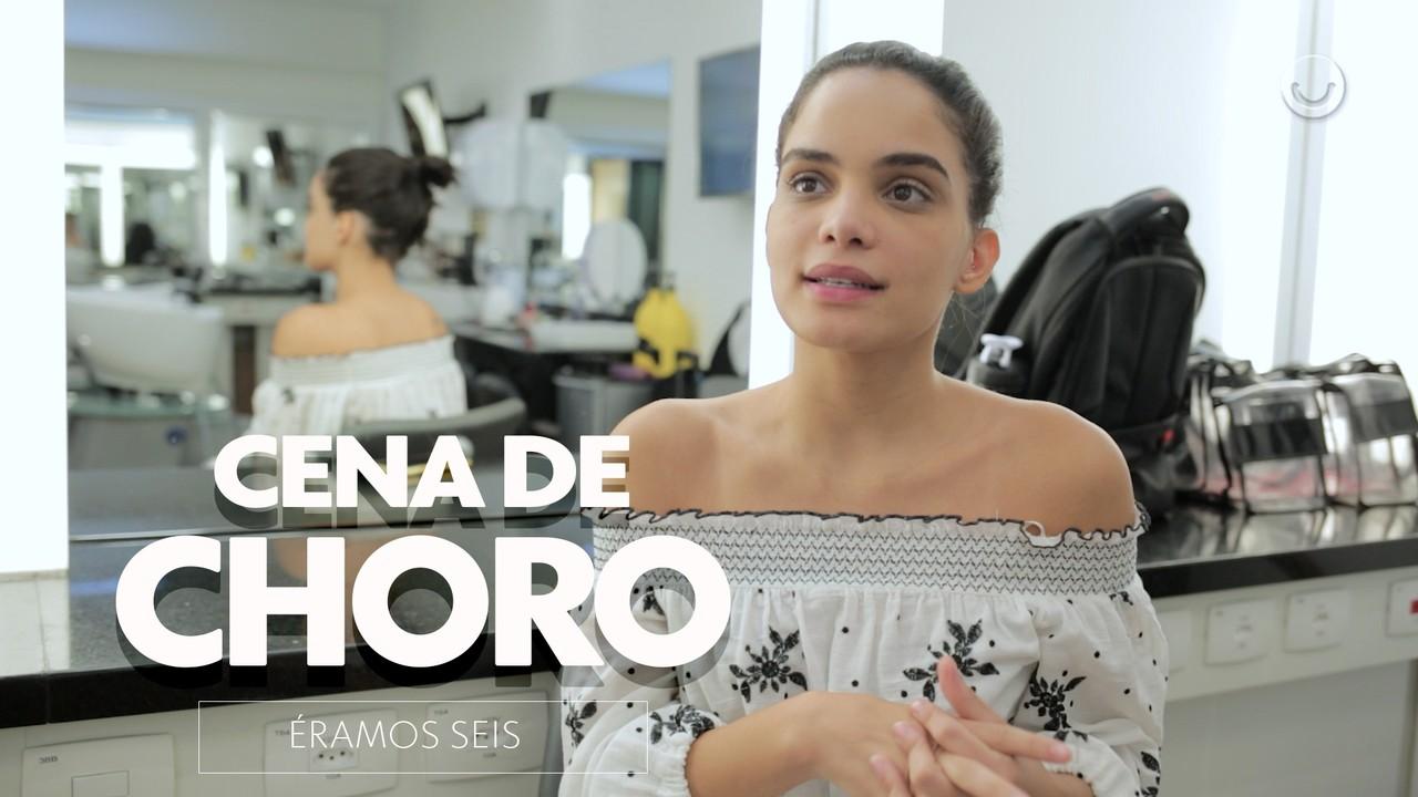 Carol Macedo revela como se prepara para uma cena forte de drama
