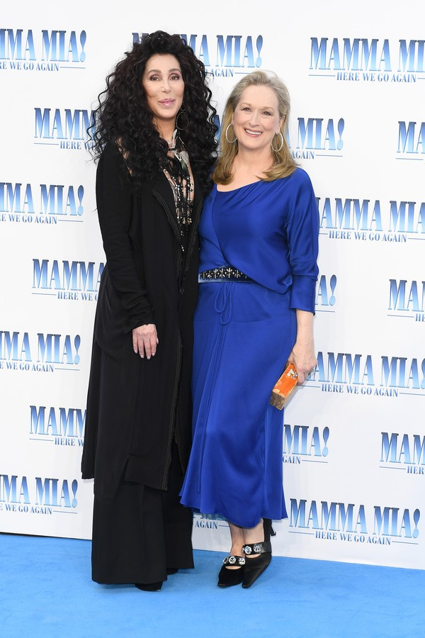 Cher and Meryl Streep (Foto: Getty Images for Universal Pictures)