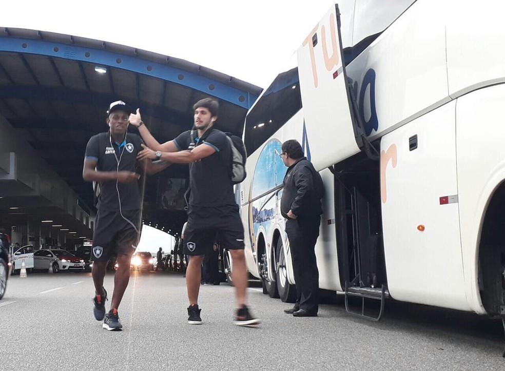 Amigos, Marcelo e Rabello só começaram a jogar juntos no profissional (Foto: Divulgação / Botafogo)