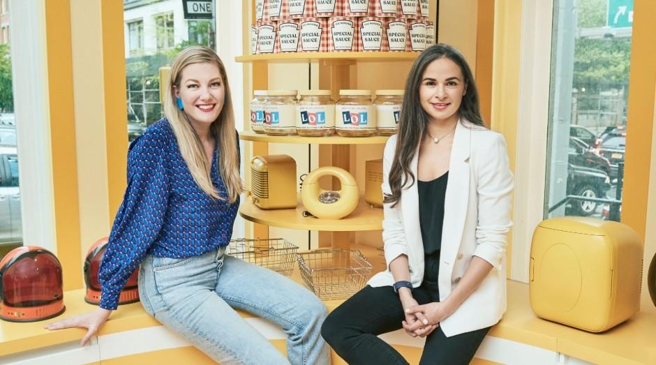 Sarah Robinson e Noria Morales, fundadoras do The Wonder (Foto: Divulgação)
