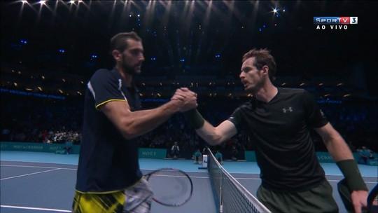 Andy Murray bate Cilic com facilidade em sua estreia como nº1 do mundo