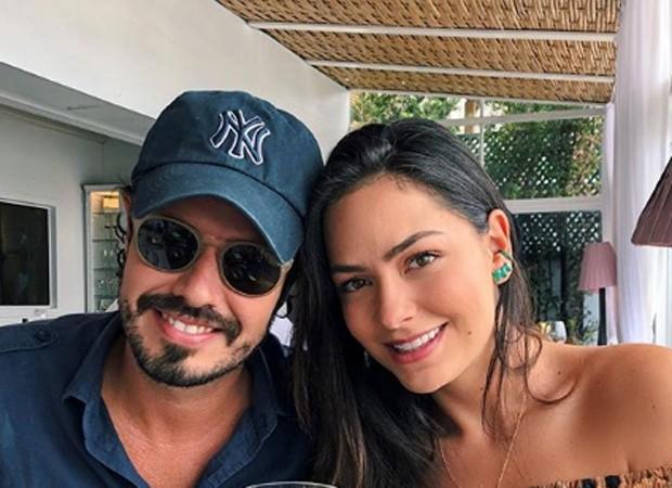 Leo Ribeiro e a amiga Lu Tranchesi (Foto: Reprodução/instagram)