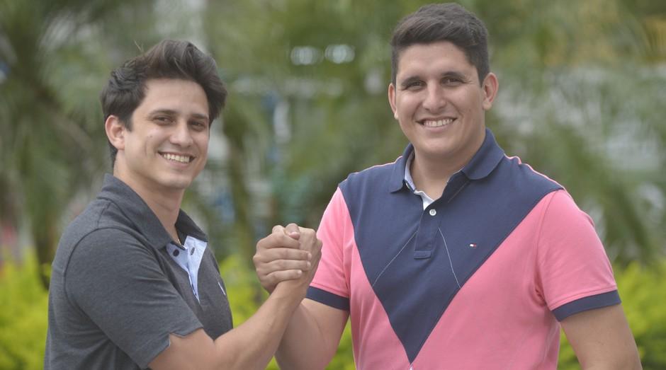 Vinicius Loyola e Taiguara Moura, fundadores da Green Station (Foto: Divulgação)