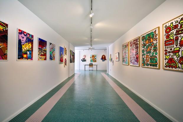 As obras de arte do hotel estão por todos os cantos (Foto: divulgação)