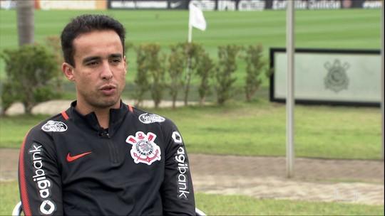 Jadson pede que Corinthians não caia na pressão do Colo-Colo e diz sonhar com título da Libertadores