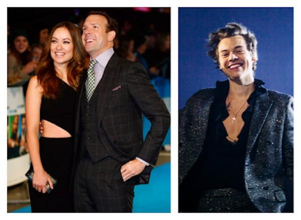 Jason Sudeikis, Olivia Wilde e Harry Styles (Foto: Getty Images)
