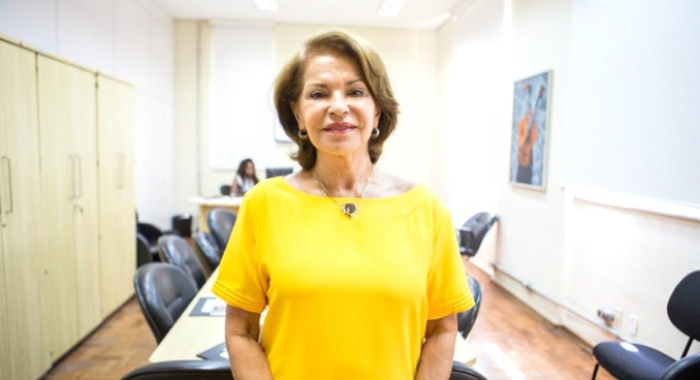 Maria Helena Guimarães de Castro, ex-secretária-executiva do MEC, presidiu a comissão do CNE que aprovou as novas regras para a formação de professores — Foto: Eduardo Saraiva / Secretaria de Educação/Divulgação